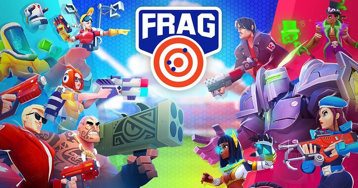 【FRAG Pro Shooter】5キャラを操作して戦う新感覚TPSのレビュー
